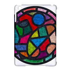 Stained Glass Color Texture Sacra Apple Ipad Mini Hardshell Case (compatible With Smart Cover) by BangZart