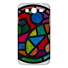 Stained Glass Color Texture Sacra Samsung Galaxy Mega 5 8 I9152 Hardshell Case  by BangZart