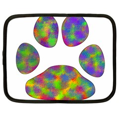 Paw Netbook Case (large) by BangZart