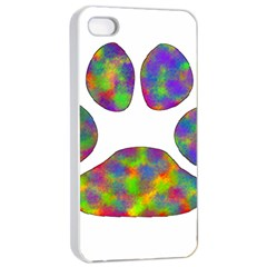 Paw Apple Iphone 4/4s Seamless Case (white) by BangZart