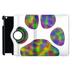 Paw Apple Ipad 2 Flip 360 Case by BangZart
