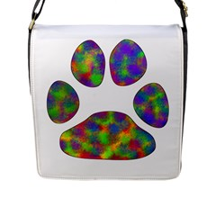 Paw Flap Messenger Bag (l)  by BangZart