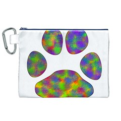 Paw Canvas Cosmetic Bag (xl) by BangZart