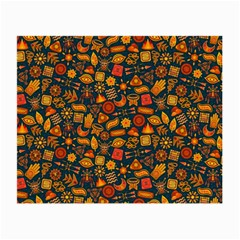 Pattern Background Ethnic Tribal Small Glasses Cloth by BangZart