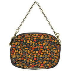 Pattern Background Ethnic Tribal Chain Purses (one Side)  by BangZart