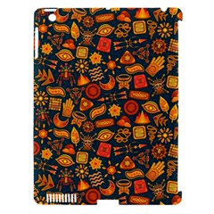 Pattern Background Ethnic Tribal Apple Ipad 3/4 Hardshell Case (compatible With Smart Cover) by BangZart