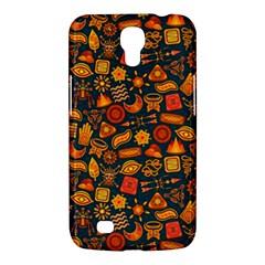 Pattern Background Ethnic Tribal Samsung Galaxy Mega 6 3  I9200 Hardshell Case by BangZart