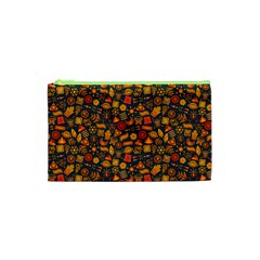 Pattern Background Ethnic Tribal Cosmetic Bag (xs) by BangZart