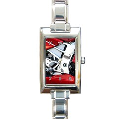Footrests Motorcycle Page Rectangle Italian Charm Watch by BangZart