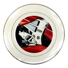 Footrests Motorcycle Page Porcelain Plates by BangZart