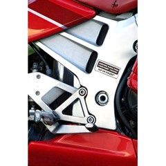 Footrests Motorcycle Page 5 5  X 8 5  Notebooks by BangZart