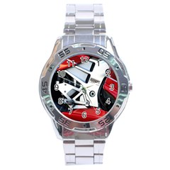 Footrests Motorcycle Page Stainless Steel Analogue Watch by BangZart