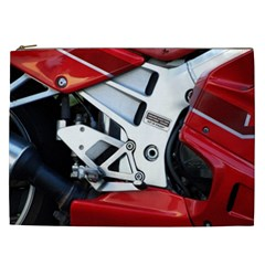 Footrests Motorcycle Page Cosmetic Bag (xxl)  by BangZart