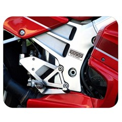 Footrests Motorcycle Page Double Sided Flano Blanket (medium)  by BangZart