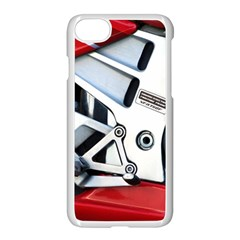 Footrests Motorcycle Page Apple Iphone 7 Seamless Case (white) by BangZart