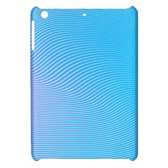 Background Graphics Lines Wave Apple Ipad Mini Hardshell Case