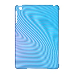 Background Graphics Lines Wave Apple Ipad Mini Hardshell Case (compatible With Smart Cover) by BangZart