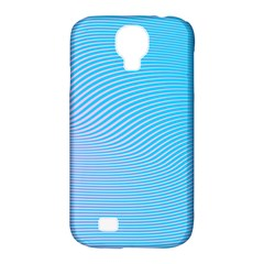 Background Graphics Lines Wave Samsung Galaxy S4 Classic Hardshell Case (pc+silicone) by BangZart