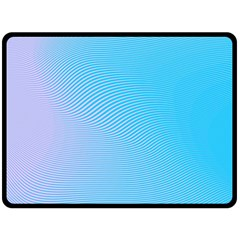 Background Graphics Lines Wave Double Sided Fleece Blanket (large)  by BangZart
