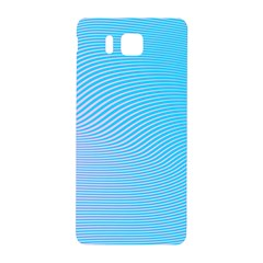 Background Graphics Lines Wave Samsung Galaxy Alpha Hardshell Back Case by BangZart