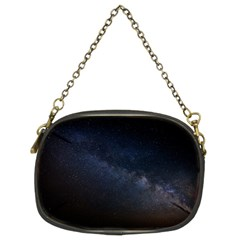 Cosmos Dark Hd Wallpaper Milky Way Chain Purses (two Sides)  by BangZart