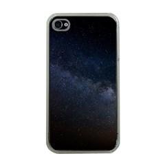 Cosmos Dark Hd Wallpaper Milky Way Apple Iphone 4 Case (clear) by BangZart