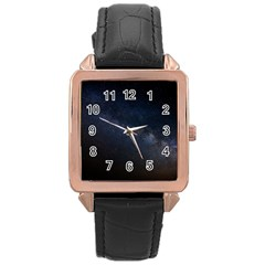 Cosmos Dark Hd Wallpaper Milky Way Rose Gold Leather Watch  by BangZart