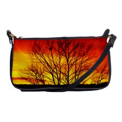 Sunset Abendstimmung Shoulder Clutch Bags by BangZart
