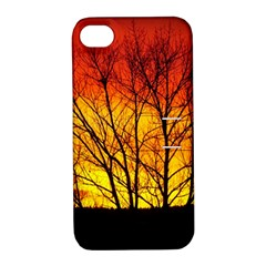 Sunset Abendstimmung Apple Iphone 4/4s Hardshell Case With Stand by BangZart