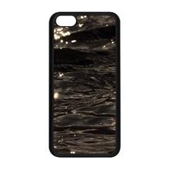 Lake Water Wave Mirroring Texture Apple Iphone 5c Seamless Case (black) by BangZart