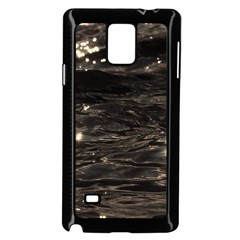 Lake Water Wave Mirroring Texture Samsung Galaxy Note 4 Case (black) by BangZart
