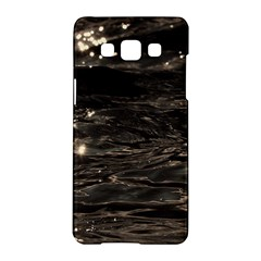 Lake Water Wave Mirroring Texture Samsung Galaxy A5 Hardshell Case  by BangZart