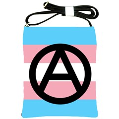 Anarchist Pride Shoulder Sling Bags by TransPrints