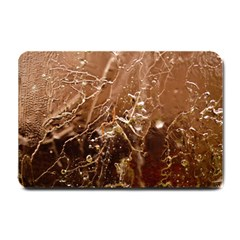 Ice Iced Structure Frozen Frost Small Doormat  by BangZart