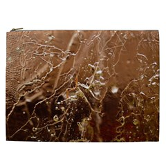 Ice Iced Structure Frozen Frost Cosmetic Bag (xxl)  by BangZart