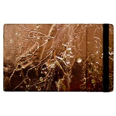 Ice Iced Structure Frozen Frost Apple Ipad 2 Flip Case by BangZart