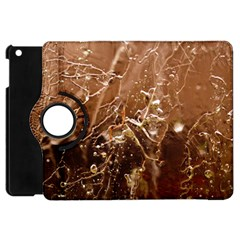 Ice Iced Structure Frozen Frost Apple Ipad Mini Flip 360 Case by BangZart