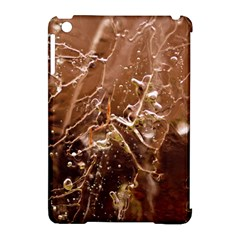 Ice Iced Structure Frozen Frost Apple Ipad Mini Hardshell Case (compatible With Smart Cover) by BangZart