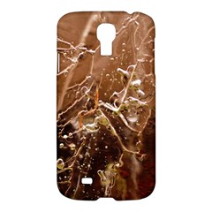 Ice Iced Structure Frozen Frost Samsung Galaxy S4 I9500/i9505 Hardshell Case by BangZart