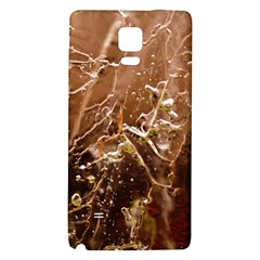 Ice Iced Structure Frozen Frost Galaxy Note 4 Back Case by BangZart