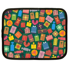 Presents Gifts Background Colorful Netbook Case (large) by BangZart