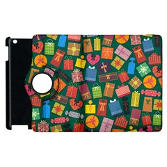Presents Gifts Background Colorful Apple Ipad 2 Flip 360 Case by BangZart
