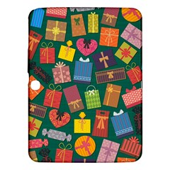 Presents Gifts Background Colorful Samsung Galaxy Tab 3 (10 1 ) P5200 Hardshell Case  by BangZart