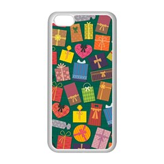 Presents Gifts Background Colorful Apple Iphone 5c Seamless Case (white) by BangZart