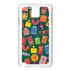 Presents Gifts Background Colorful Samsung Galaxy Note 3 N9005 Case (white) by BangZart