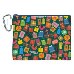 Presents Gifts Background Colorful Canvas Cosmetic Bag (xxl) by BangZart