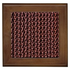 Chain Rusty Links Iron Metal Rust Framed Tiles by BangZart