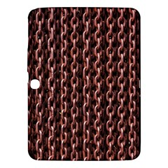 Chain Rusty Links Iron Metal Rust Samsung Galaxy Tab 3 (10 1 ) P5200 Hardshell Case  by BangZart