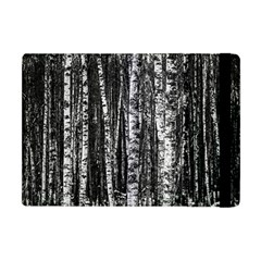 Birch Forest Trees Wood Natural Apple Ipad Mini Flip Case by BangZart
