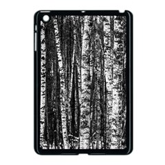 Birch Forest Trees Wood Natural Apple Ipad Mini Case (black) by BangZart
